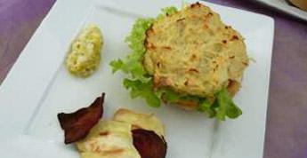 Veni burger - burger sans pain, poireaux, Frites panais, betteraves